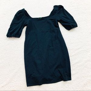 Wild fable black off the shoulder stretch dress